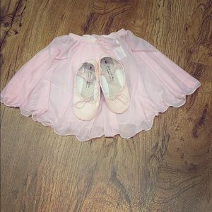 Freestyle Toddler Girl Pink Ballet slippers sz9